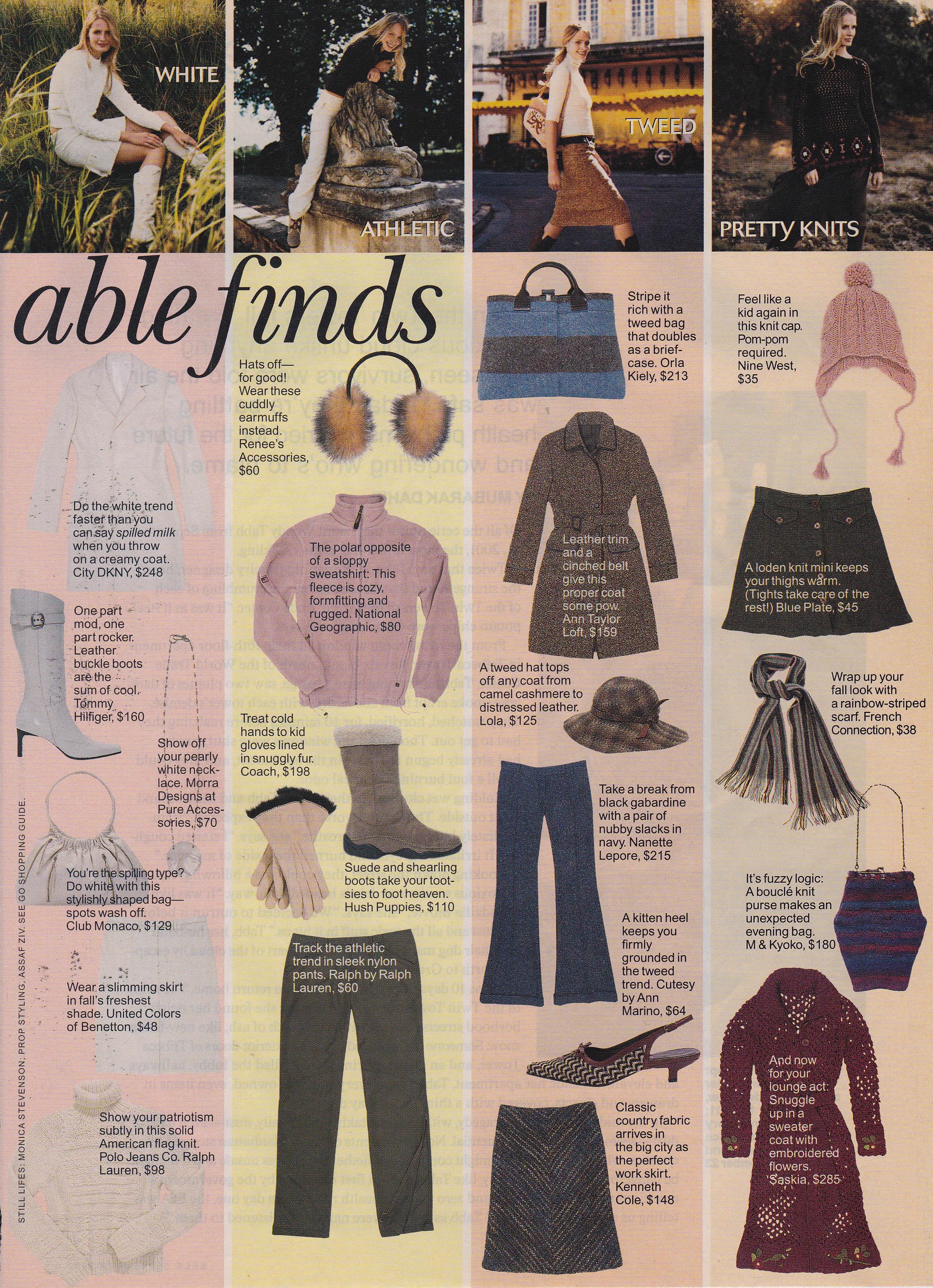 September 2002 Self Magazine