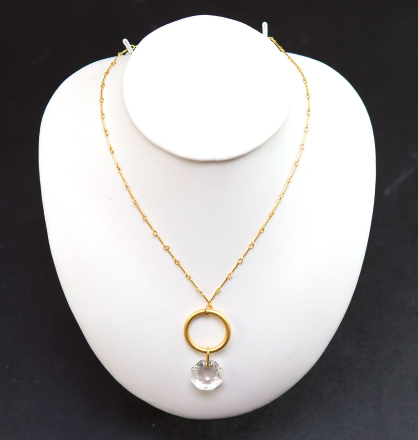 Baccarat Circle Necklace