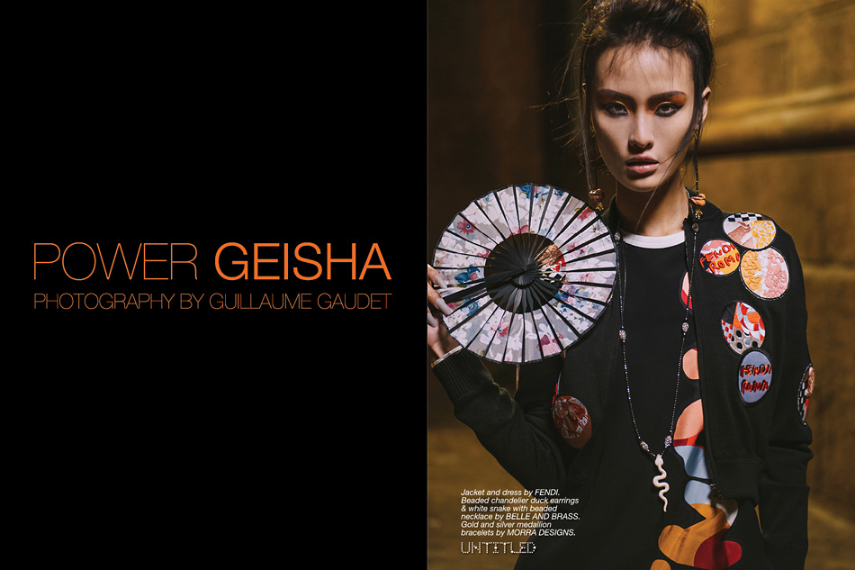 """Power Geisha"" Photography by Guillaume Guadet for The Untitled Magazine"