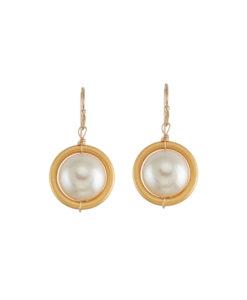 Atomic Pearl Earring