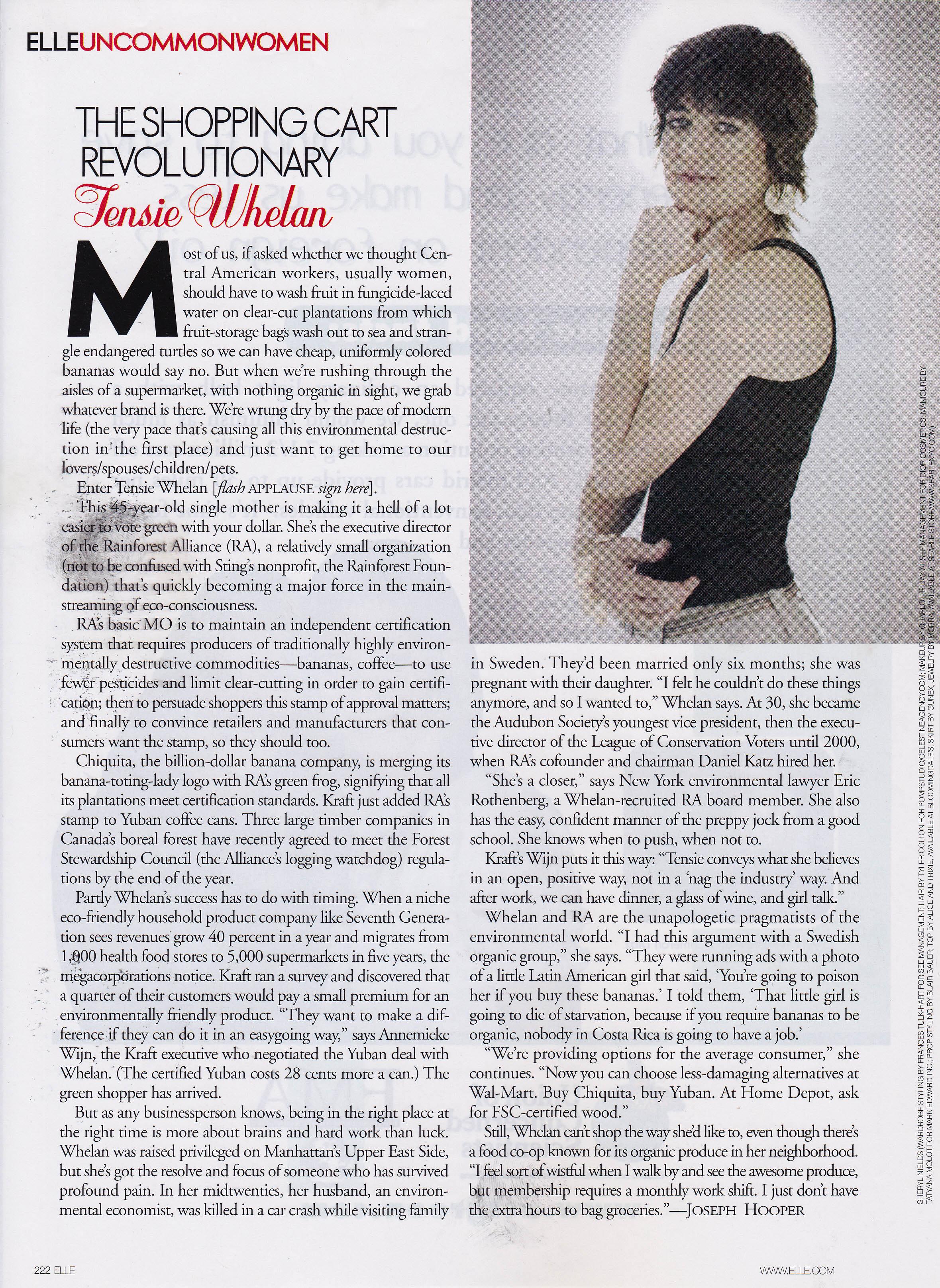May 2006 Elle Magazine