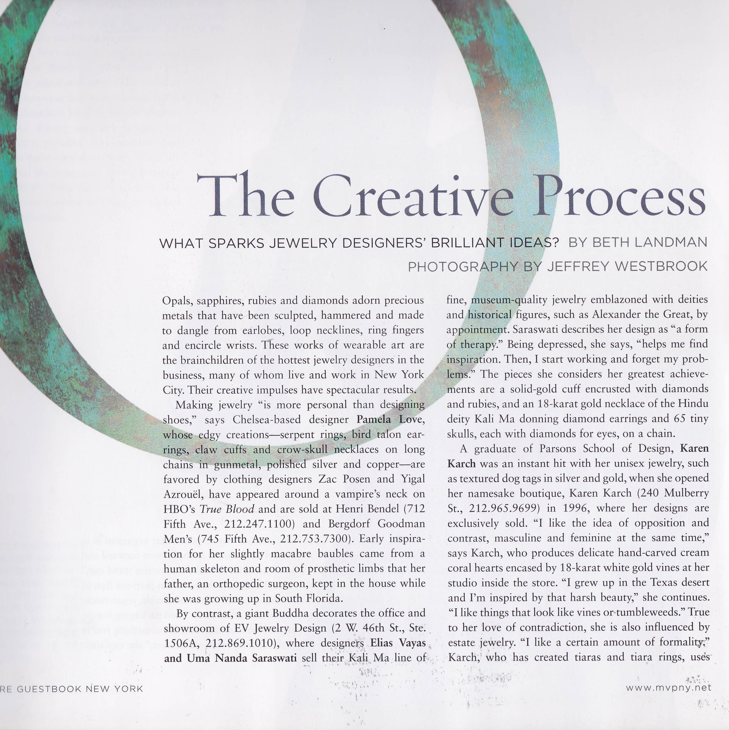 'The Creative Process' featuring Heather Morra