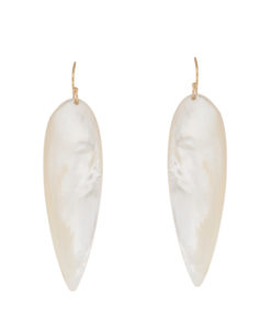 earrings, shells