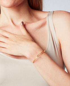 bracelet, gold