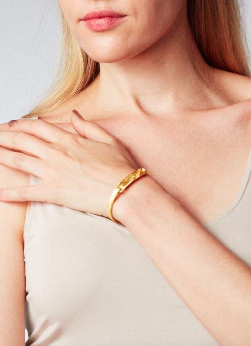 I.D. bracelet, gold