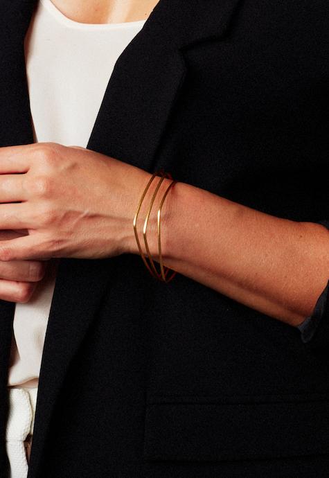 bangles, gold thin
