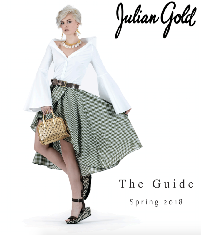 Morra Designs, press, Julian Gold, The Guide, Spring 2018, magazine, placement