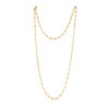 chain, necklace, gold, metal, jewelry