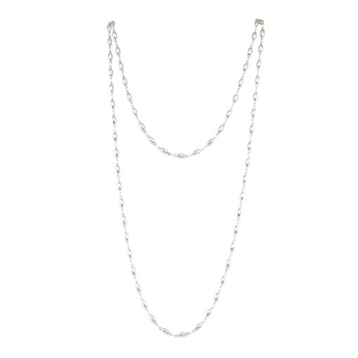 chain, necklace, silver, metal, jewelry