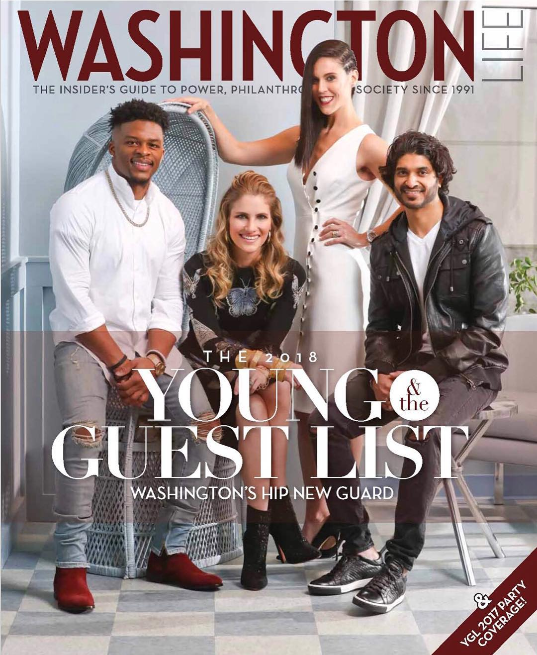 Morra Designs, press, Washington Life magazine, placement